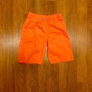 Boys Cat & Jack Orange Shorts
